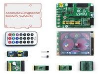 Raspberry Pi Model B+ Plus Accessories 3.2'' Raspberry-pi LCD Screen + Raspberry-pi Expansion Board + Modules Development Board