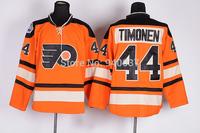 Free Shipping Cheap Discount Authentic Philadelphia Flyers Ice Hockey Jerseys #44 Kimmo Timonen Jersey Wholesale Mixed Order