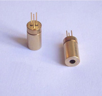 10PCS 2.2VDC 5MW industrial  Focusable Tripod Laser diode module head Copper semiconductor laser sensor OD 6MM