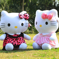 Oversized 75cm Hello Kitty doll hello kitty cat KT cat doll plush toy birthday, Valentine's Day Gifts