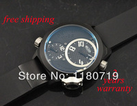 free shipping Welder by K32 Triple Time Zone Black Ion-Plated Steel Mens Watch K32-9202 Watch
