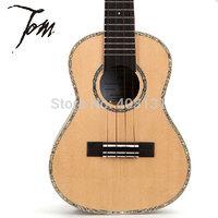 "New Arrival TOM  Guitar Ukulele Fingerstyle 26"" TUT-680M Import Musical Instruments Ukelele with Bag  Free Shipping"