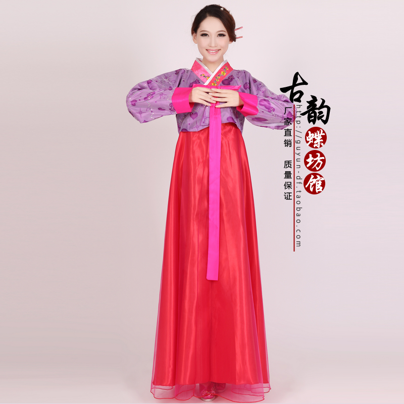 Luxury Korean Traditional Dress Korean National Costume Women Clothes Long