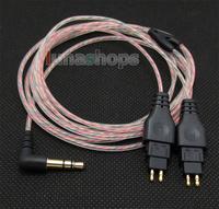 5N OFC Soft Skin Earphone Cable For Sennheiser HD480 CL-II HD480 HD490 HD520 HD520 II HD530 HD540 HD540 HD560 II LN004609