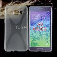 Galaxy A5 A5000 X Design TPU Case,High Quality X Line Soft TPU Gel Skin Cover Case For Samsung Galaxy A5 A5000