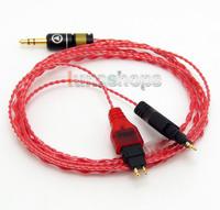 130cm Red Custom 6N OCC Hifi Cable For Sennheiser HD480 CL-II HD480 HD490 HD520 HD520 II HD530 HD540 HD540 HD560 II LN004610