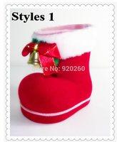 2014 Christmas socks 3pcs/lot Santa Claus Snowman Reindeer Bear,christmas gift, Indoor Christmas Decoration Supplies two styles