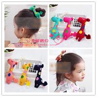 Child hair accessory personalized small glitter powder amphiaster clip side-knotted clip child duckbill clip MOQ 10pcs mix color