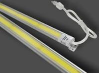 0.6M LED COB Rigid Light Bar,COB LED Rigid Bar Light 8W DC 24V 3000K/6500K 50PCS/Lot,DHL Free Shipping
