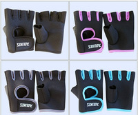 Fitness half finger bike riding gloves sports outdoor climbing anti-skid gloves