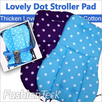 Hot Sale Free Gift Thicken Cotton Waterproof Dot 2 Color Pad Seat Cushion Dinning Chair Baby strollers accessories Cushion