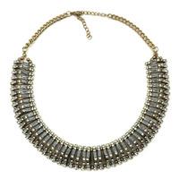 2014 NEW Z  fashion vintage necklace collar bib more smaller choker Necklaces & Pendants statement necklace for women