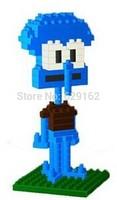 Creative Diamond Building Blocks Loz 9145 Squidward! 140Pcs / 1Set, Kids Educational toys, DIY Toys! Free Shipping!