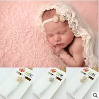 Free Shipping (10pcs/Lot) Euramerican Children Headdress Baby's Diamond Headband Children Jewelry Headband