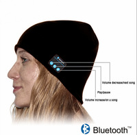 handsfree Bluetooth hat speakers Comfy Knitted Beanie Hat with Bluetooth Stereo Speakers fashion Bluetooth Music knitted hat