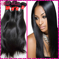 Special 7A natural Virgin human hair Eurasian straight weave 3pcs/lot(300g) no Tangle Flawless bundles On Sale