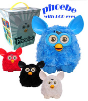 2014 Newest Firby Boom Plush Toy Talking Phoebe Firbi Elves Recording Pelucia Electronic Toys For Kids Compatible