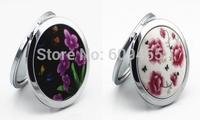FREE SHIPPING+Brilliant Flowers Design Compact Mirror Wedding Favors+100pcs/lot