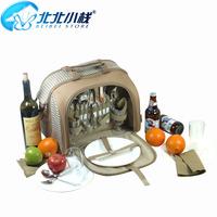 Cooler Bag Insulation Pack Small One Shoulder Stack Outdoor Picnic Bag Ice Pack Insulation Bag Luxury Set Tableware
