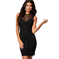 New arrival, High quality! Fashion o-neck patchwork Dress, Clubbing Dresses, One Size, DL21712