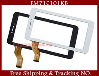 """7 """" 100% New Prestigio tablet touch panel for Freelander PX1 PX2 / Newman M78 F7 F76 Tablet PC touch panel digitizer FM710101KB"""