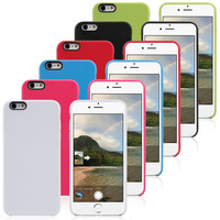High Quality Official Soft Gel skin TPU Cover Case for iphone 6 5.5 IPHONE6 PLUS mobile phone accessories + Free screen flim