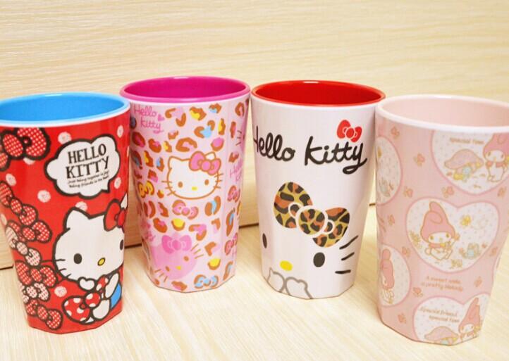 500ML Approx. Kawaii NEW Hello Kitty + Melody Rabbit CUP Mugs ; Tooth Brushing Water CUP ; Drink Cup MUG ; Water Milk Cup Mug(China (Mainland))
