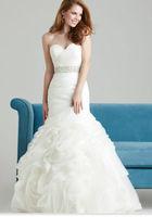 New Mermaid White/Ivory Wedding Dress custom size
