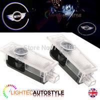 7W CREE led chip Car projector door logo for BMW MINI ghost shadow lights, Support Custom DIY LOGO