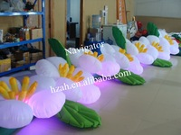 Wedding Inflatable Decoration Gate Flower with LED Light