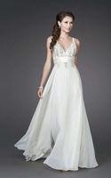 New Spaghetti Strap Applique Wedding Dress Custom size
