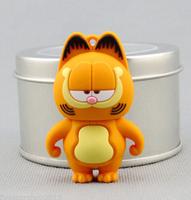 8G Cartoon USB Flash Drive Waterproof cute cat usb 2.0 pen drive flash memory stick usb flash Free shipping+ Drop shipping
