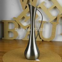 European Style Vintage Home Decoration Fashion Metal  Tabletop Flower Decor Vase Polished Artcraft Gift
