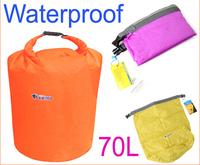 70L Waterproof Dry Bag for Canoe Kayak Rafting Camping Travel Kit 1pc