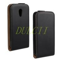 2014 New High Qualty Magnetic Vertical Flip Genuine Split Leather Case for Motorola Moto X2 XT1097 X+1