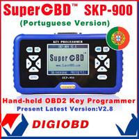 Auto key programmer SuperOBD SKP-900 Key Programmer Hand-held OBD2 key programmer SKP900 EMS Free shipping+Free Update