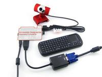 Accessory Pack for Raspberry Pi Model B+ Rev3.0 WIFI + Wireless Keyboard + Power supply + 5 Kits for Raspberry pi Model B Plus