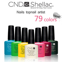 Newest 79 Colors Soak Off UV Led Nail Gel CND Shellac (Base + Top Coat + 38Colors) 40pcs/Lot Nail Gel Polish For Nails Kit