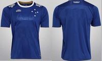 2015 Cruzeiro NILTON jersey A+++ Top Thialand 2014 15 Brazil Football Cruzeiro Jersey brasileiro culb champion t-shirt Free ship