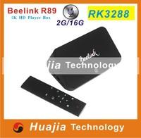 Beelink R89 RockChip RK3288 Android Smart TV BOX Quad Core 1.8GHz 2G/16G 2.4G/5GHz WiFi H.265 OTA HDMI 4K*2K OTG SPDIF TV BOX