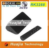 Ubox R89 RK3288 android TV BOX Qaud Core 1.8GHz Andriod 4.4 Mini PC Smart tv 2G/8G WIFI Support 4K Bluetooth 4.0 OTA H.265