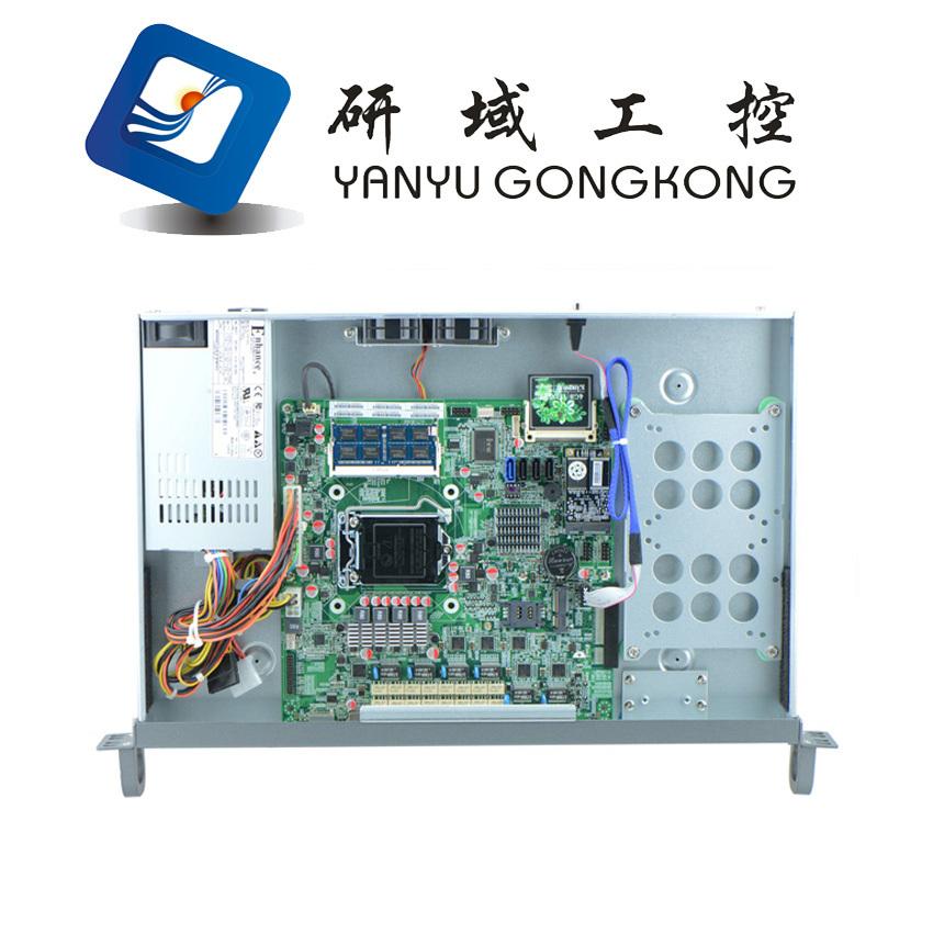 B75 LGA1155 firewall case /1U Rack Server With 6 Gigabit Lan(China (Mainland))