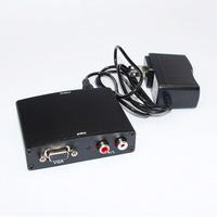 1080P Audio VGA to HDMI HD HDTV Video Converter Box Adapter for PC