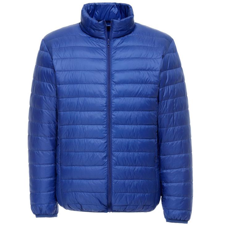Dos homens venda quente gola inverno quente jaqueta homem de alta qualidade baixo Outwear casaco de inverno pato branco para baixo 90% homem jaqueta(China (Mainland))