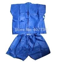 Wholesale man's one-off non-woven fabric bathrobe disposable sauna suit for spa, beauty salon