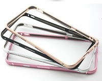 Free shipping HOT ! For Apple iPhone 6  Bumper Luxury Aluminum Metal  Protective Cases Covers For Apple iPhone6 plus 5.5 inch