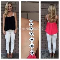 2014 hot selling chiffon fashionable ladies' blouse