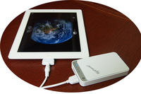 Free Shippingh wholesle 5 unit  5200mAh Dual USB Universal Power Bank  for  for iPhone,iPad
