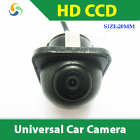 HD CCD universal Car rear view camera or car front view camera for all car night vision color waterproof car parking camera