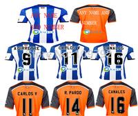 2015 Real Sociedad home away Jersey soccer 14 15 Real Sociedad A GIRRETXE CARLOS CANALES FINNBOGASON Football shirt Thai quality